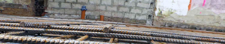Armatures pour les fondations du bâtiment