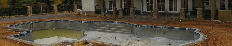 Aménagement d'une piscine extérieure