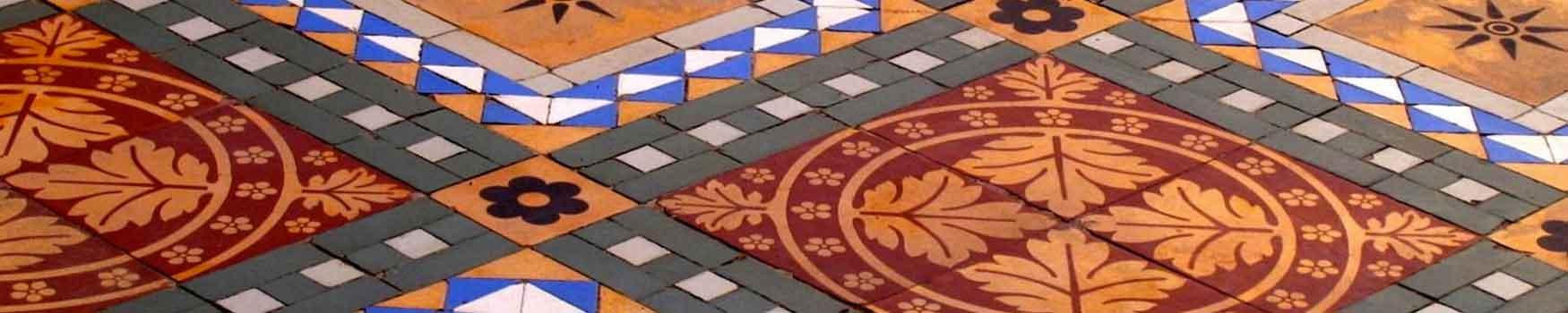 Carrelages mosaïques pour le sol