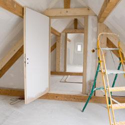Aménagement du dernière étage d'une habitation