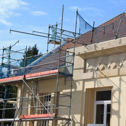 Rénovation de la façade d'une habitation